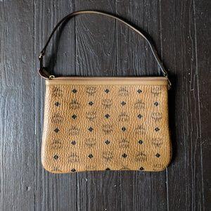 Mcm large pouch bag